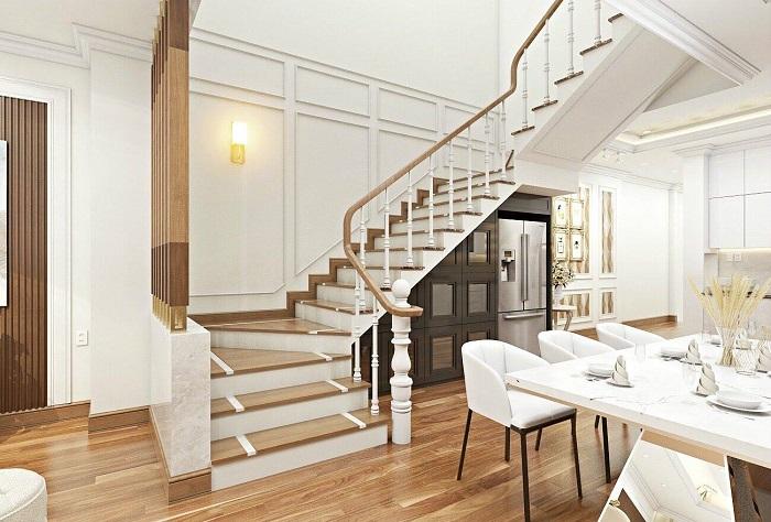 vì sao không đặt cầu thang ở giữa nhà
